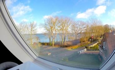 ...mit Blick auf die Ostsee...