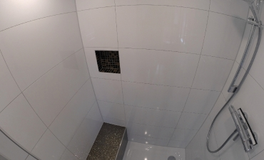 ...und großer Dusche !